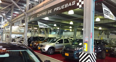Centro de pruebas Renault