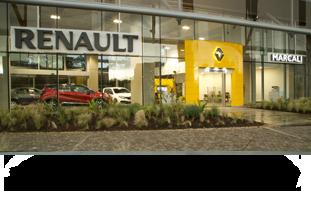 Vitrina Renault calle 26