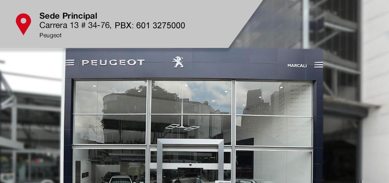 Peugeot Sede Principal