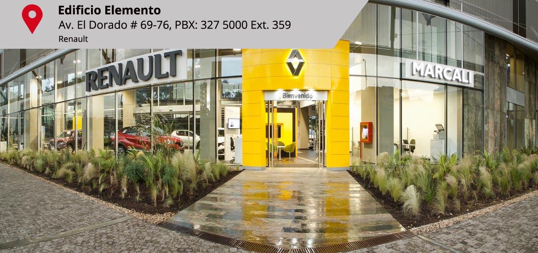 Renault Sede Edificio Elemento