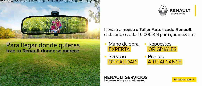 Taller autorizado Renault