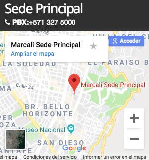 mapa de ubicacion marcali