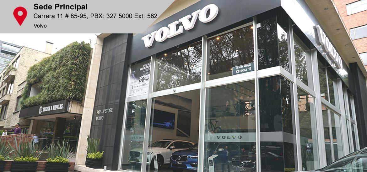 direccion sede Volvo princpial