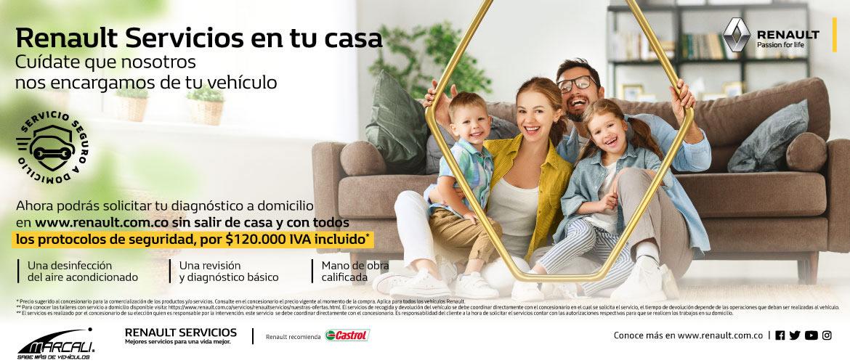 Renault servicio en tu casa