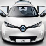 imagen de carro electrico renault zoe