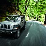 imagen de jeep transitando en carretera